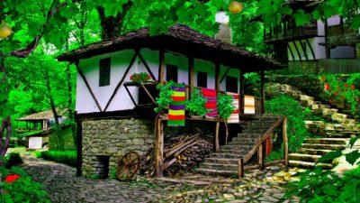 бължарска къща - Светилник